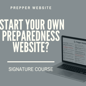 Your Own Preparedness Website